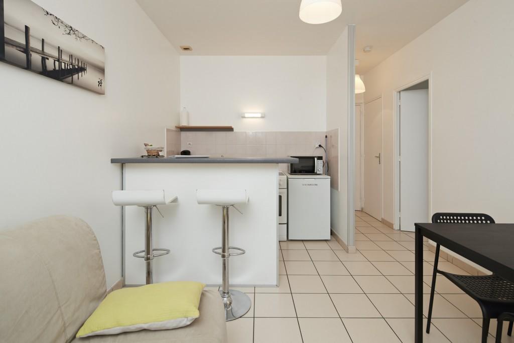 cuisine studio appart hotel